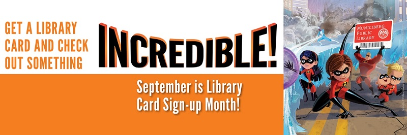 Library Card Sign-Up