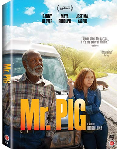 mr. pig movie dvd cover with Danny glover and a girl