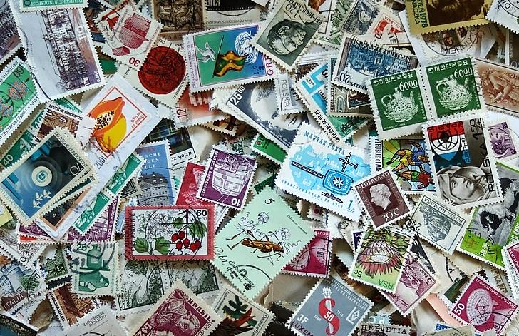 pile of stamps