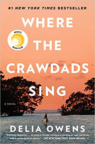 Where the crawdads sing bookcover
