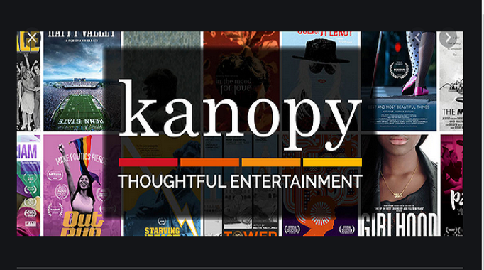kanopy banner against dvd covers 682x380